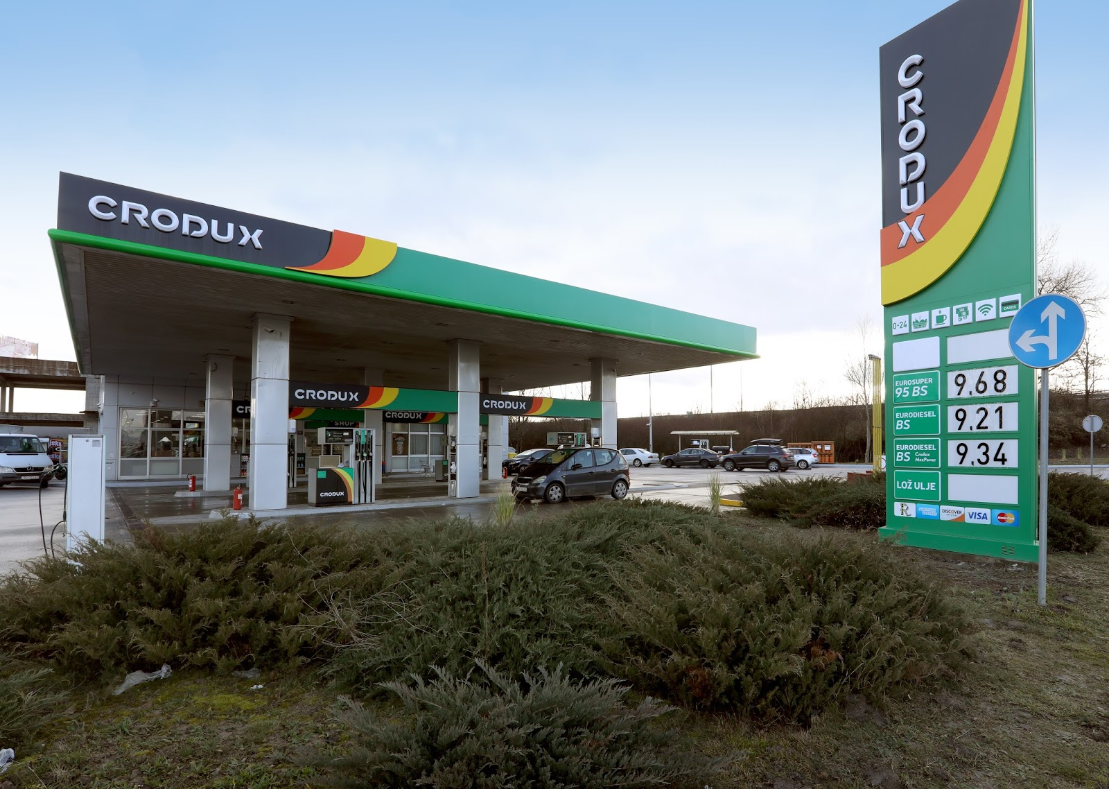 Petrol Station Crodux Zagreb Lucko Zagreb Fuelo Net
